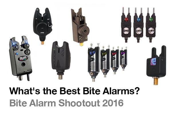 What's the Best Bite Alarms? - Bite Alarm Shootout 2016 ...